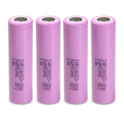 4pcs INR18650 - 30Q 3.7V 3000mAh 18650 Rechargeable Li-ion Battery