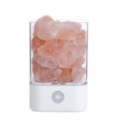 M4 Himalayan 7 Colorful Night Light Ionic Natural Salt Crystal Lamp
