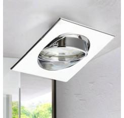 10X Recessed Ceiling Downlights Tilt Mounting Frames Adjustable Square
