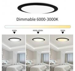 18W 220V Dimmable LED High Bay Ultra-Thin Flying Saucer Ceiling Light UK