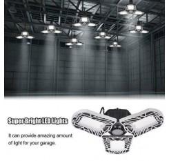 LED Garage Lights Fixture Daylight /Workshop Warehouse Ceiling Light Cool White
