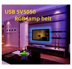 1/2M RGB LED Light Strip Bar TV Room Background Computer USB Remote Contro