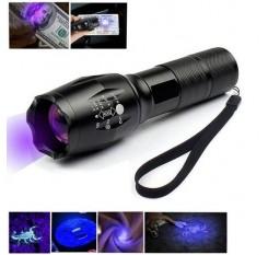 3 Modes Torch UV Ultra Violet LED Flashlight Blacklight 365nm Inspection Lamp