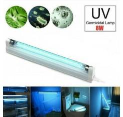 UV 8W Disinfection Lamp UVC Ozone Ultraviolet Germicidal Light Bulb Sterilizer