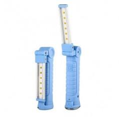 6LED UV Sterilizer Light USB Rechargeable UVC Germicidal Disinfection Lamp Bulb