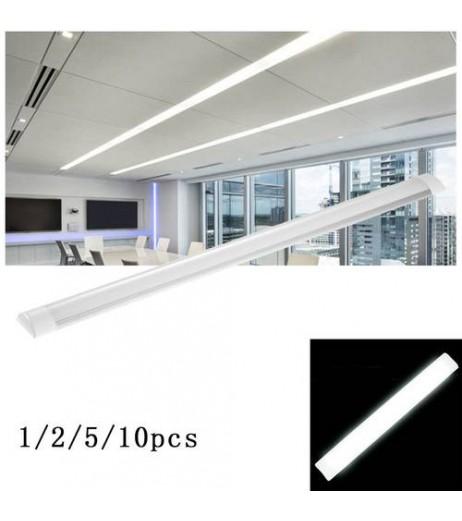 10X 90cm LED Tube Tube Surface Mounted Ceiling Lamp Neutral white Tube Lamp