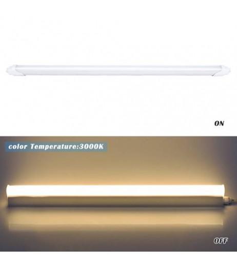 2/4pcs 120cm Opaque T8 Light Tube LED Tube Light Mounted Lamp Warm white AU